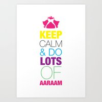 Keep Calm 1 Art Print