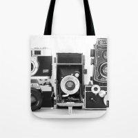 Vintage Camera Collection Tote Bag