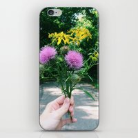Wildflower Bouquet iPhone & iPod Skin