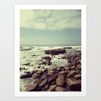 Tidal Flow Art Print