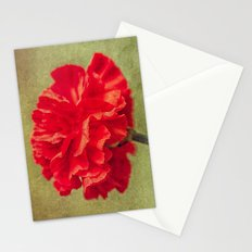 Red Carnation. Stationery Cards