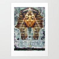 MYSTIC//PHARAOH Art Print