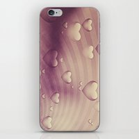 Luv Hearts iPhone & iPod Skin