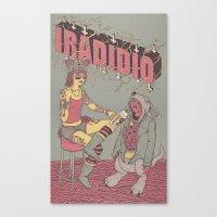 IRADIDIO N°3 Canvas Print