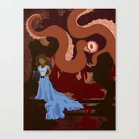 grotesquerie Canvas Print