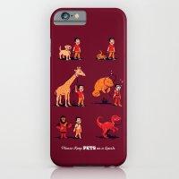Please Keep Pets on a Leash iPhone 6 Slim Case