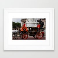 The Royal Carriage 6 Framed Art Print
