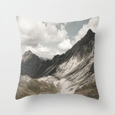 Cathedrals - Landscape Photography Throw Pillow