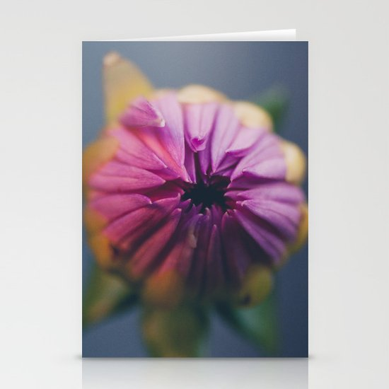 Ready to Bloom, in color Stationery Card