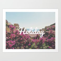 Holiday Art Print