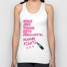 Fundamental Unisex Tank Top