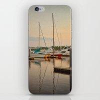 Wilmington City Docks on the Riverwalk iPhone & iPod Skin