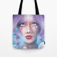 Lady Bubble Tote Bag