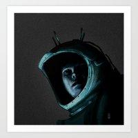 recon unit#01 Art Print