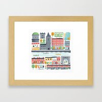 Dublin City Framed Art Print