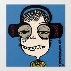 do you like rock music like i like rock music Canvas Print