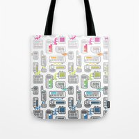 Electronica Tote Bag