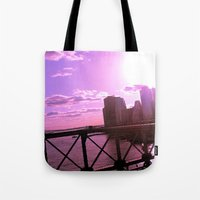 As The Sun Sets Tote Bag