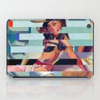 Glitch Pin-Up: Randi iPad Case