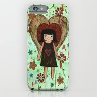 iPhone & iPod Case featuring Broken girl by Stephanie Timson