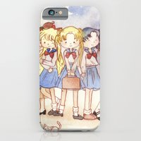 iPhone & iPod Case featuring School Sailors by malipi
