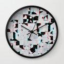 fylss ynyglyph Wall Clock