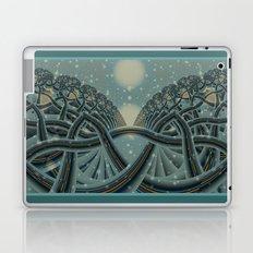 Celtic Winter Forest Laptop & iPad Skin