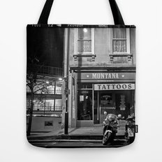 Montana Tattoos Tote Bag