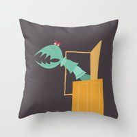 Monsters, Inc. - Scary Doors Throw Pillow