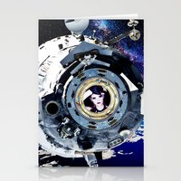 Objects in Space Stationery Cards