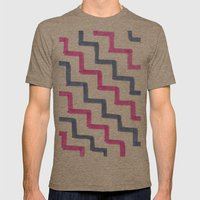 Missoni Stairs Mens Fitted Tee Tri-Coffee SMALL