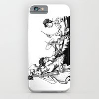 iPhone & iPod Case featuring The Band by maxandr
