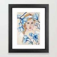 Porcelain Doll Framed Art Print