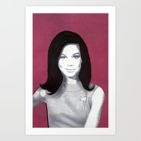 Mary Tyler Moore Paper A… Art Print