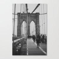 Brooklyn Bridge III Canvas Print