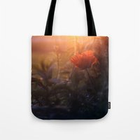 Summer Poppy Tote Bag