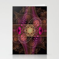 Abstract  Fractal 136    Stationery Cards