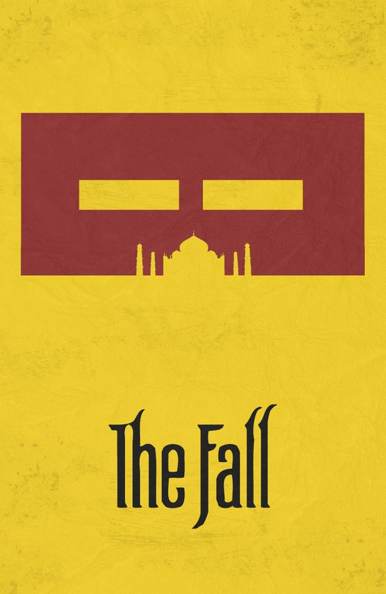 The Fall - Minimal Poster Canvas Print