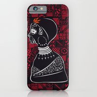 Tribal woman with traditional patterns iPhone 6 Slim Case