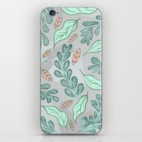 Little Leaves iPhone & iPod Skin