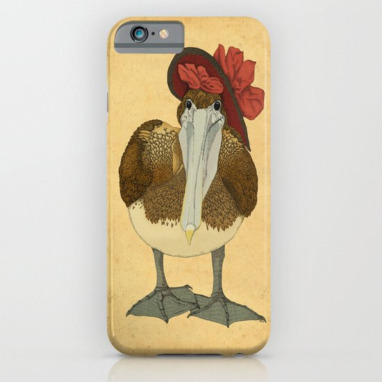 Plumpkin Ploshkin Pelican Jill iPhone & iPod Case
