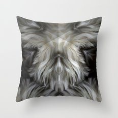 The Grey Witch Throw Pillow