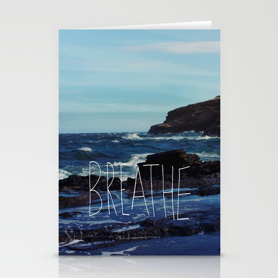 Breathe Stationery Card