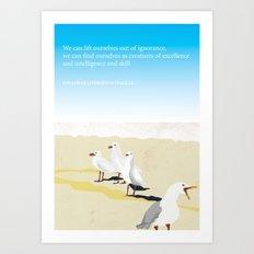 Jonathan Livingston Seagull Art Print
