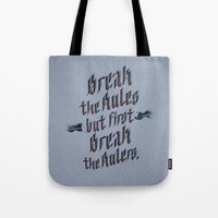 Break The Rules (variant… Tote Bag