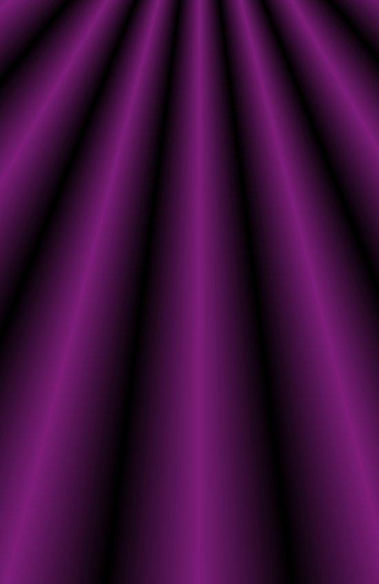 Purple Satin Gown Art Print