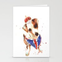 LONDON - Jack Russell Ar… Stationery Cards