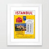 Istanbul Turkey Framed Art Print