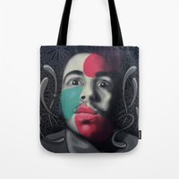 Colour Pressure Autorret… Tote Bag