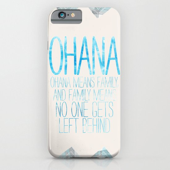 OHANA iPhone & iPod Case